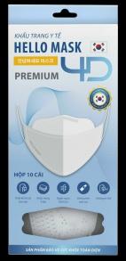 Thành Phát - Khẩu Trang 4D Hello Mask- Premium